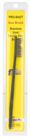 Pro-Shot SDE Gun Brush Dual Ended Universal Stainless Steel