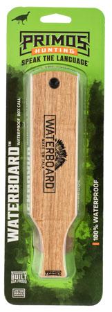 Primos PS257 Waterboard Wild Turkey Hand Box Call Mahogany