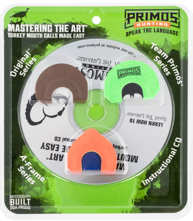 Primos PS1243 Mastering the Art Wild Turkey Mouth Call Blister Pack