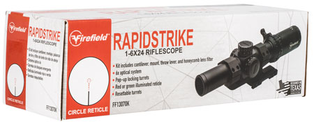 Firefield Rapid Strike 1-6x24mm 30mm Rifle Scope