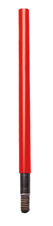 Kleen-Bore ACC13SAF Saf-T-Clad Cleaning Rod Adapter #8-36 & 38-32 Thread Red