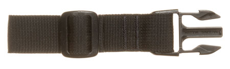 TACSHIELD (MILITARY PROD) T6091BK Web Loop Attachment for Swivel Loop Black Webbing