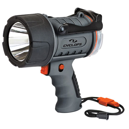 Cyclops CYC-700WP Waterproof LED 700 Lumens Cree LED Black/Gray Rechargeable Lithium