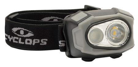 Cyclops CYC-HL4X eFlex 400 Headlamp 400 Lumens Cree LED Black Rechargeable Lithium