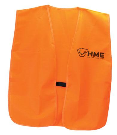 HME HME-VEST-OR- Safety Big Boy Orange Polyester