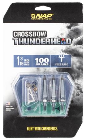 Walkers NAP-60-694 Thunderhead Crossbow 100 grain Broadhead 5 Pack
