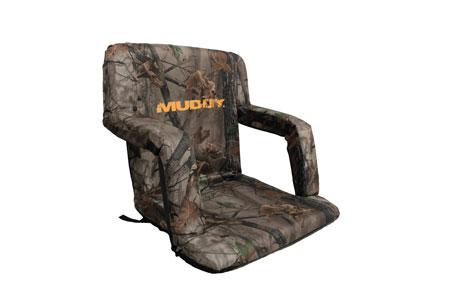 Walkers MUD-GS1206 Deluxe Stadium Chair Bucket Chair Camo