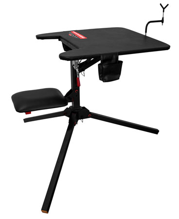 Birchwood Casey BC-SWABNCH Swivel Action Shooting Bench Black
