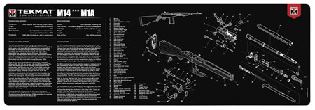 TekMat TEKR36M14 Original Cleaning Mat Springfield M1A Parts Diagram 12