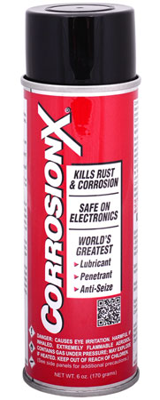 CORROSION TECHNOLOGIES 90101 CorrosionX Protects Against Rust and Corrosion 6 oz Aerosol