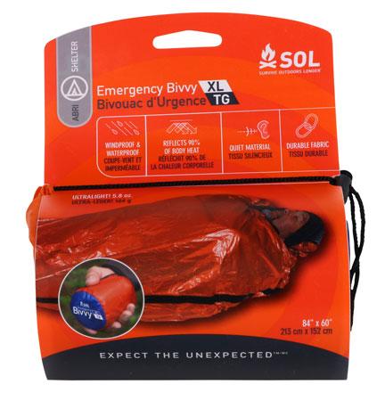 Adventure Medical Kits 01401139 SOL Emergency Bivvy Orange 84