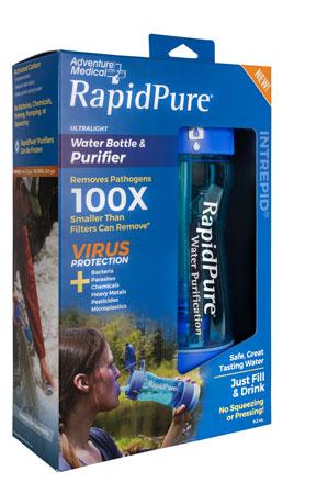 RapidPure 01600120 Intrepid Bottle Blue