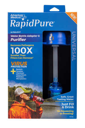 RapidPure 01600130 Universal Purifier Adapter Blue