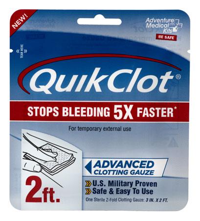 Adventure Medical Kits 50200025 QuikClot Clotting Gauze 3