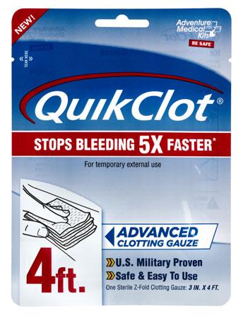 Adventure Medical Kits 50200026 QuikClot Clotting Gauze 3