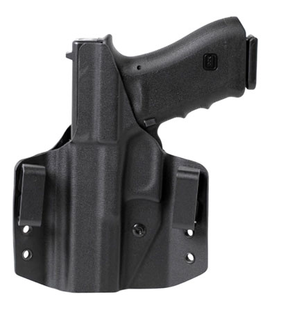 Uncle Mikes 54CCW67BGL CCW Black OWB Glock 42 Left Hand