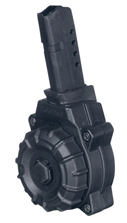 ProMag DRMA34 Glock Compatible 9mm G43 30rd Black Drum