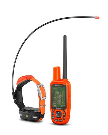 Garmin 0100163501 Astro 430 T5 Mini Bundle Orange AA Up 20 Dogs 4-9 Mile Range
