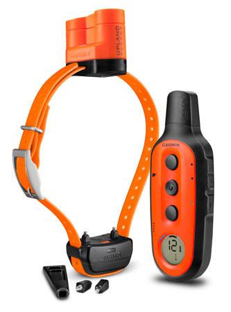 Garmin 0100147006 Delta Upland XC System Bundle Orange Rechargeable Li-ion Up to 3 Dogs 3-4 Mile Range