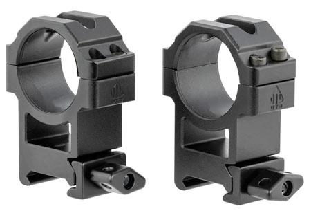 Leapers RG2W3224 See Thru 30mm High Black