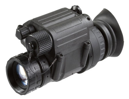 Agm Global Vision 11P14123453131 PVS-14 3AL3 Monocular 1x 26mm 40 Degrees FOV Black