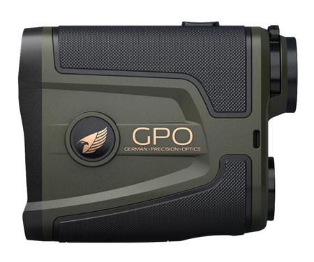 German Precision Optics RT1800 Rangetracker 6x 20mm 6-1800 yds 400 ft @ 1000 yds FOV Green w/Black Accents