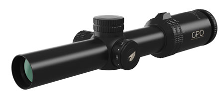 German Precision Optics R500 Passion 5X 1-5x24mm 30mm Rifle Scope