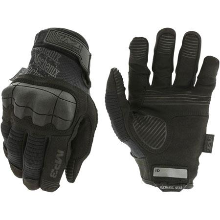 MECHANIX WEAR MP3-55-009 M-Pact 3 Covert Medium Black Synthetic Leather
