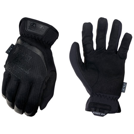 MECHANIX WEAR FFTAB-55-008 FastFit Covert Small Black Synthetic Leather Touchscreen