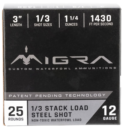 MIGRA AMMUNITION M12S136P Combinational Weekender 12 Ga 3