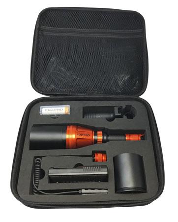 Foxpro GUNFIRE KIT Gunfire Kit Hunting Light Red/White/Green LED Orange
