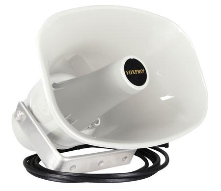 Foxpro SP70SCW Snow Pro Speaker White FOXPRO game calls w/3.5mm external speaker jacks