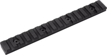 TIMBER CREEK OUTDOOR INC M15SPRBL M-Lok Picatinny Rail AR-Platform 15-Slot Black Hardcoat Anodized