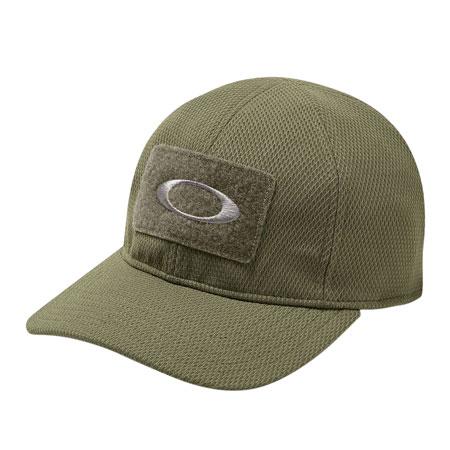 OAKLEY (LUXOTTICA) 911444A-79B SI Cotton Cap Polyester Small/Medium Worn Olive