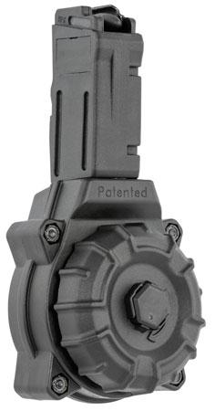 ProMag DRMA36 Sig 9mm Sig Sauer MPX 30rd Black Drum Polymer