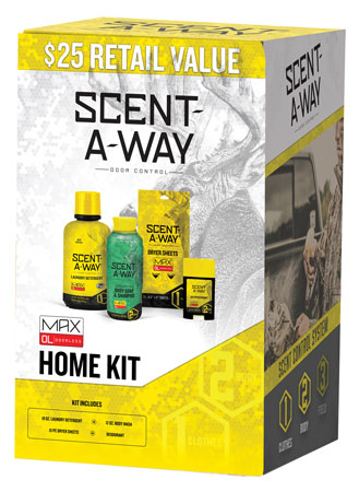 Hunters Specialties 100097 Scent-A-Way Max Home Kit Odor Eliminator Odorless