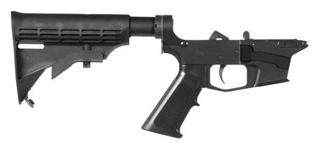 CMMG 92CA314 Resolute 100 MK17 AR-Platform Black 6 Position M4 Stock