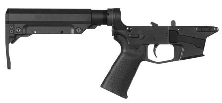 CMMG 92CA38C Resolute 300 MK17 AR-Platform Lower Group Black