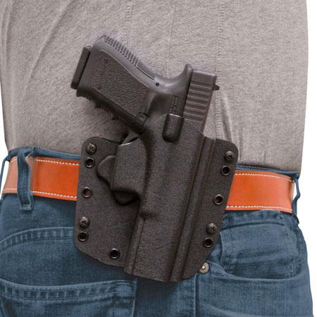 Desantis Gunhide 147KAB2Z0 SL Raptor Black Kydex OWB fits Glock 17,22,31,47 Right Hand