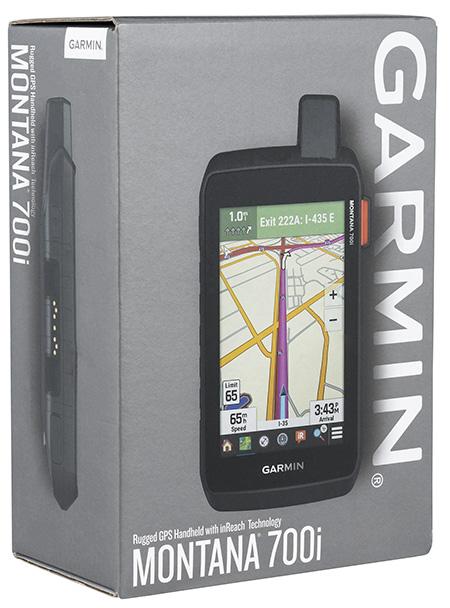 Garmin 0100234710 Montana 700i Handheld GPS w/ inReach Black Rechargeable Li-ion Bluetooth/ANT+