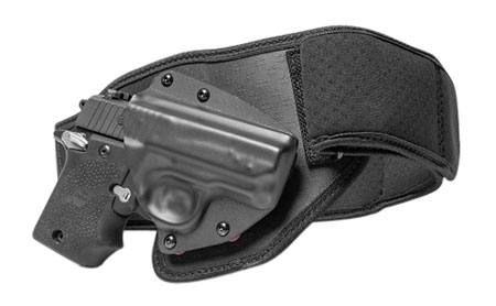 Tactica TT-BB-0033-RH-S Belly Band S&W M&P Shield EZ380 Elastic Black Small RH