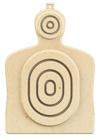 """Birchwood Casey 3DTGTBTT Torso Target 31.25"""" H x 21.25"""" W x 1"""" D 3D Bullseye Tan 3 Per Pack"""""""""""