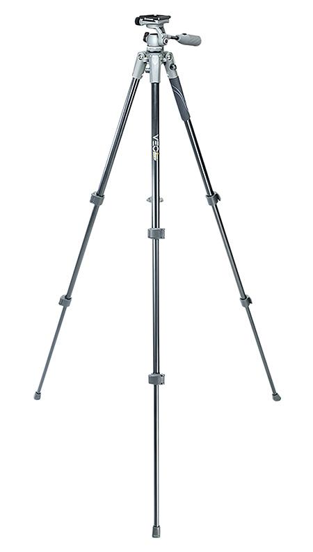 Vanguard VEO2PRO203AO VEO 2 Pro 203AO Swivel 360 Degree Gray Aluminum 22-57.50