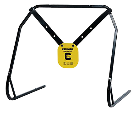 Caldwell 1140016 Gong & Target Stand Combo Yellow