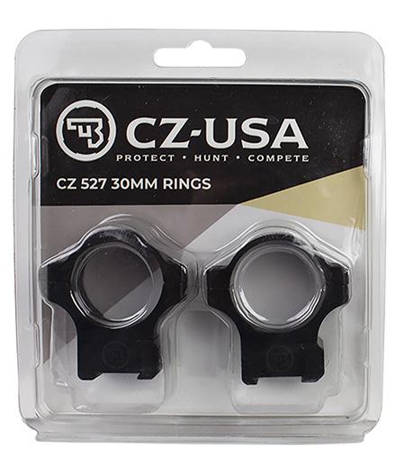 CZ-USA 40089 CZ 527 Dovetail CZ 527 30mm Matte Bla