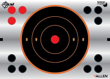 EZ-Aim 15230 EZ-Aim Reflective Bullseye Mylar Targ