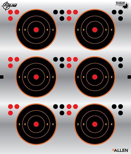 EZ-Aim 15231 EZ-Aim Reflective Bullseye Self-Adhes