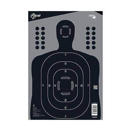 EZ-Aim 15496 EZ-Aim Bullseye Bullseye Paper Target