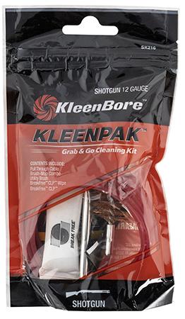 Kleen-Bore SK216-10 Grab & Go Cleaning Kit 12 Gaug