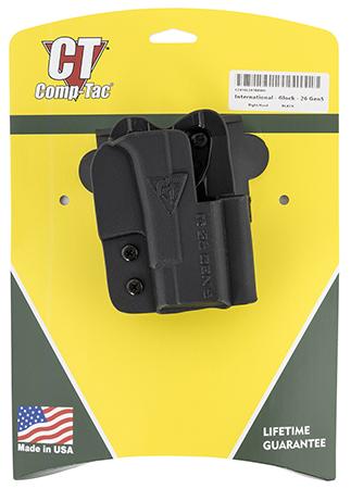Comp-Tac C241GL297RBKN International Black Kydex O
